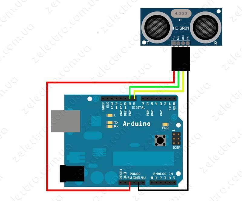 Arduino Tutorial: Ultrasonic Sensor HC SR04 distance